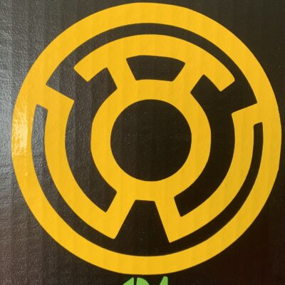 Yellow Lantern Vinyl Decal
