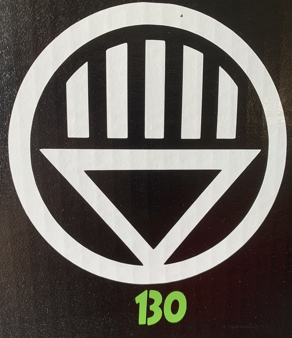 Black Lantern Vinyl Decal