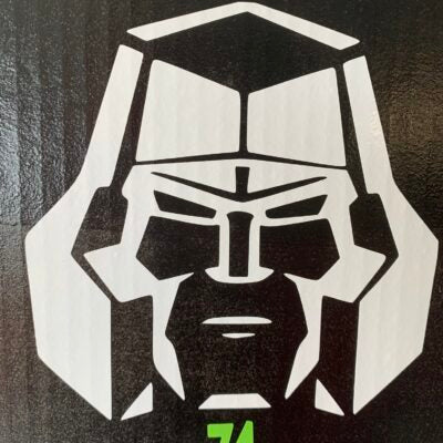 Megatron Vinyl Decal