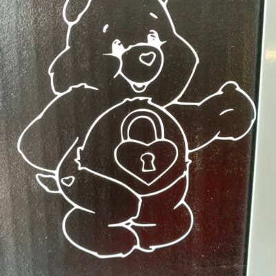The Care Bears- Secret Bear Vinyl Decal