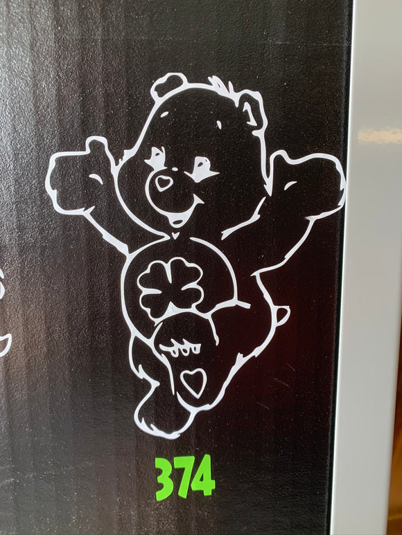 The Care Bears- Good Luck Bear Vinyl Decal