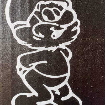 Papa Smurf Vinyl Decal