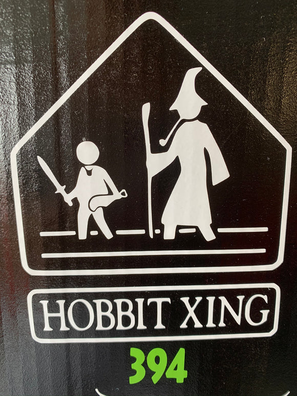 LOTR: Hobbit Crossing Vinyl Decal