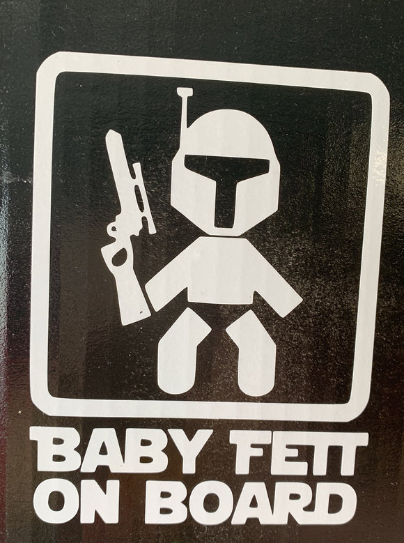 Boba Fett Baby on Board