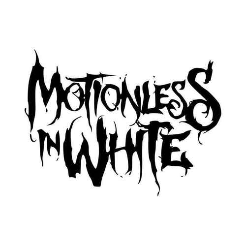 Motionless In White Vinyl Decal