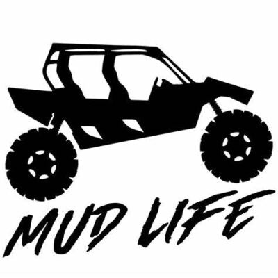 Mud Life Vinyl Decal