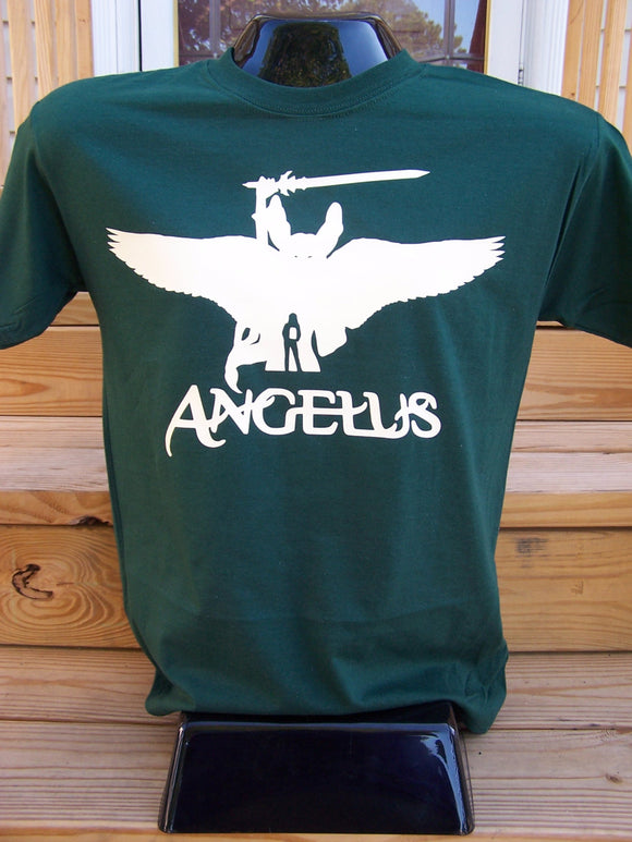 Angelus from the Darkness Silhouette T-Shirt