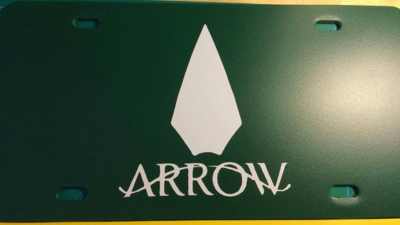 Arrow License Plate
