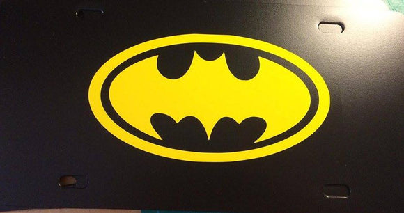 Batman License Plate