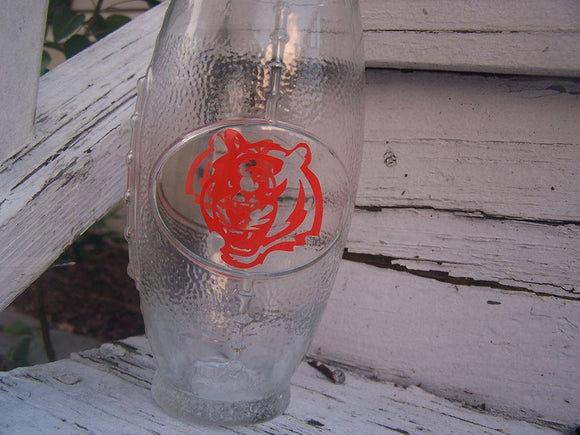 NFL Cincinatti Bengals Football Glass