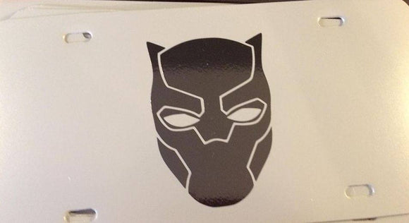 Black Panther License Plate