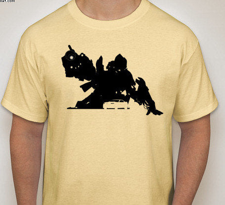 Transformers: Bumblebee Silhouette T-Shirt