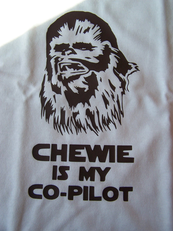 Star Wars- Chewie is my Co-Pilot Custom T-Shirt