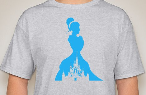 Cinderella Sihouette T-Shirt
