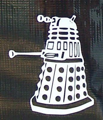 Dr. Who Dalek sticker