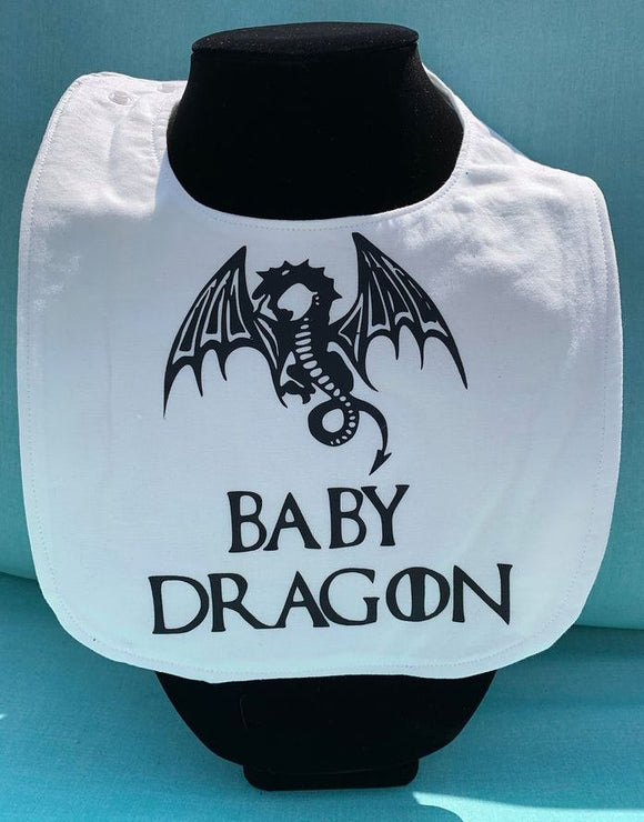 Game of Thrones: Baby Dragon Baby Bib