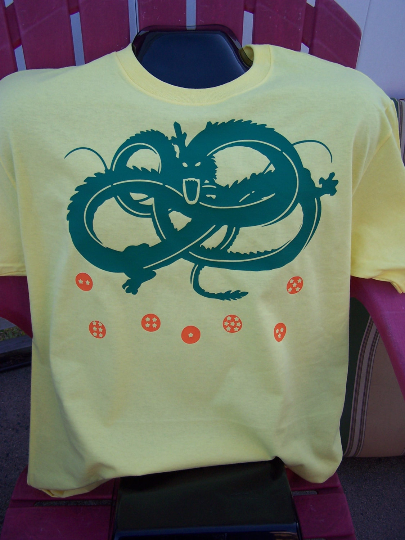 Dragon Ball Z: Shenron Dragon Custom Tshirt