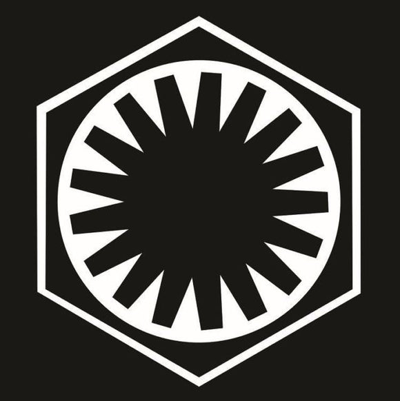 Star Wars First Order Vinyl Decal