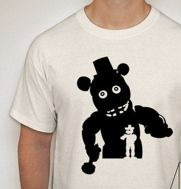 Five Nights at Freddy's Silhouette T-Shirt