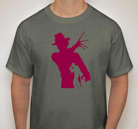 Movie Maniacs: Freddy Krueger Silhouette T-Shirt