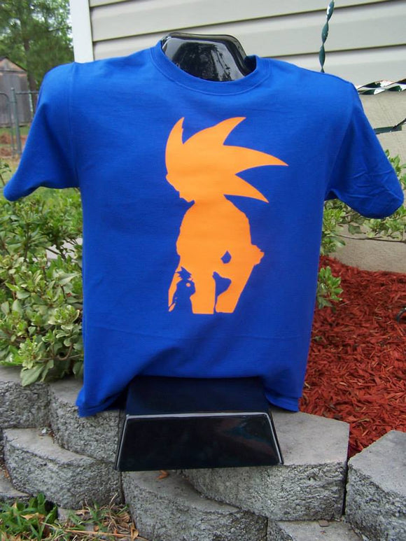 Dragon Ball Z-Goku Silhouette Shirt