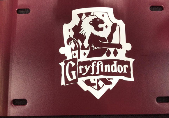 Harry Potter: House of Gryffindor License Plate