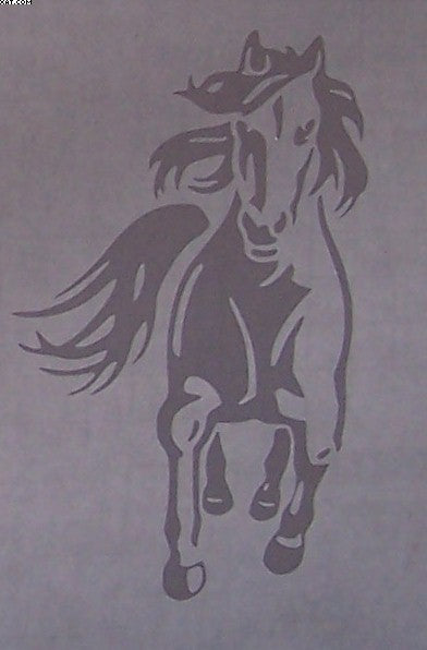 Horse Galloping Decal