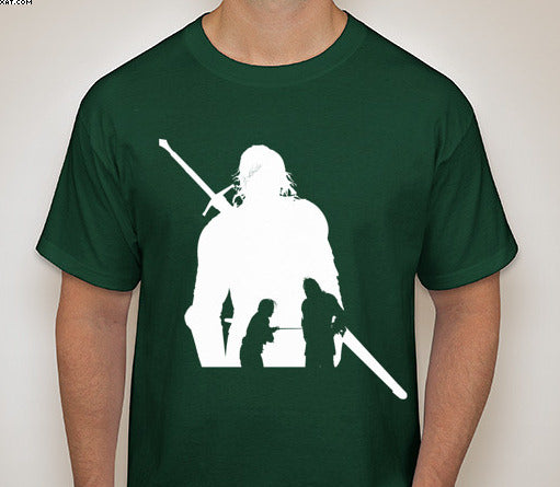 Game of Thrones- The Hound Silhouette T-Shirt
