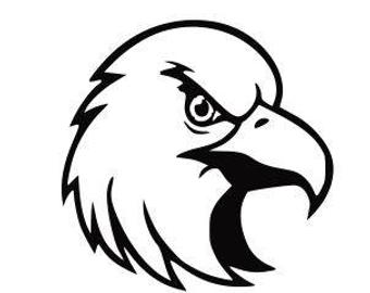 Eagle Head Vinyl Decal