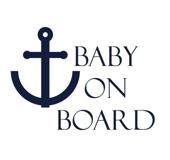 Baby On Board Anchor