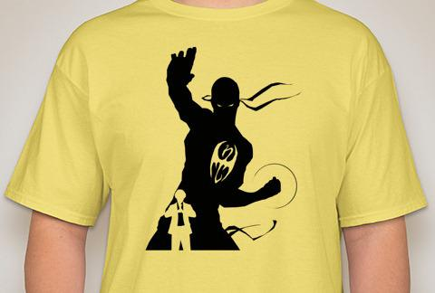Iron Fist Silhouette T-Shirt