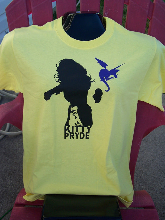 Kitty Pryde Silhouette Tshirt