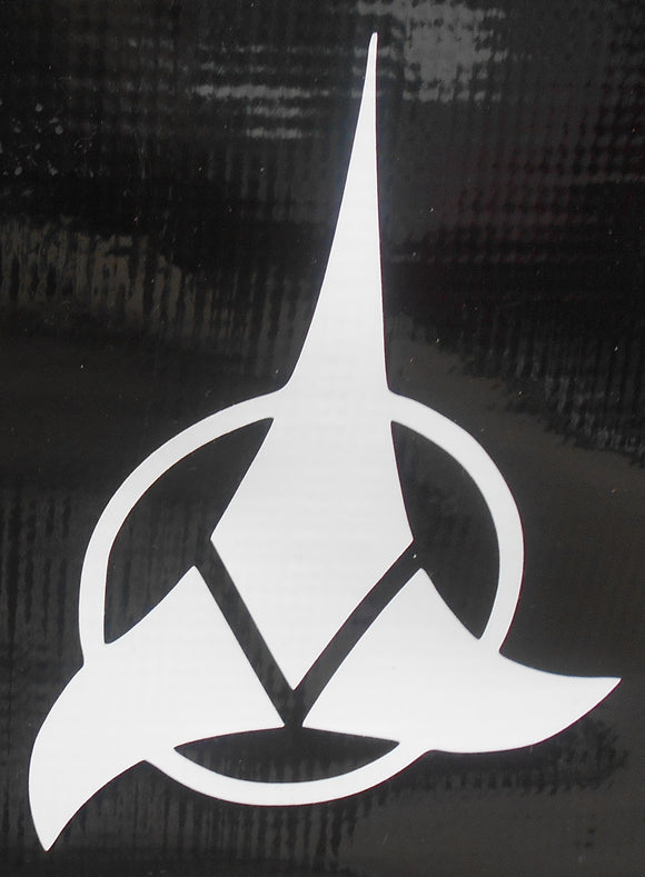 Star Trek: Kligon Logo Vinyl Decal