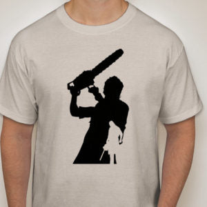 Movie Maniacs: Leatherface from Texas Chainsaw Massacre Silhouette T-Shirt