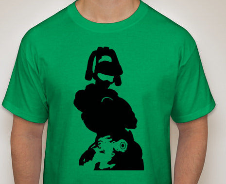 Lucio from Overwatch Silhouette Shirt