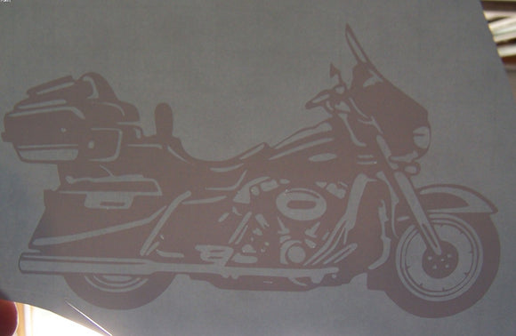Touring Motorcycle sticker