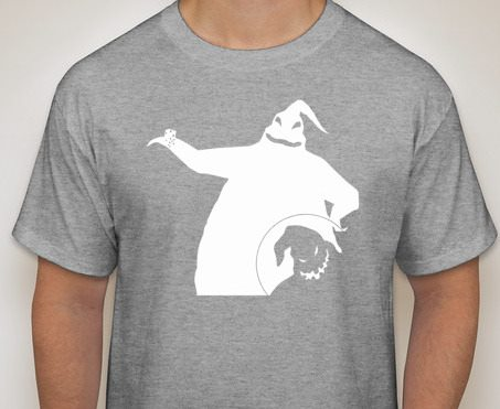 Nightmare Before Christmas: Oogie Boogie Silhouette Shirt