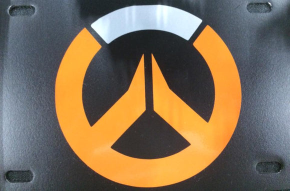Overwatch Logo License Plate