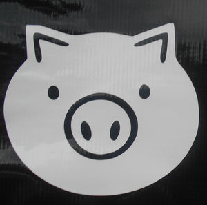 Overwatch Piggy Vinyl Decal