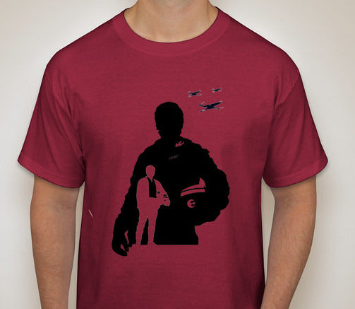Star Wars: The Force Awakens- Poe Silhouette T-Shirt