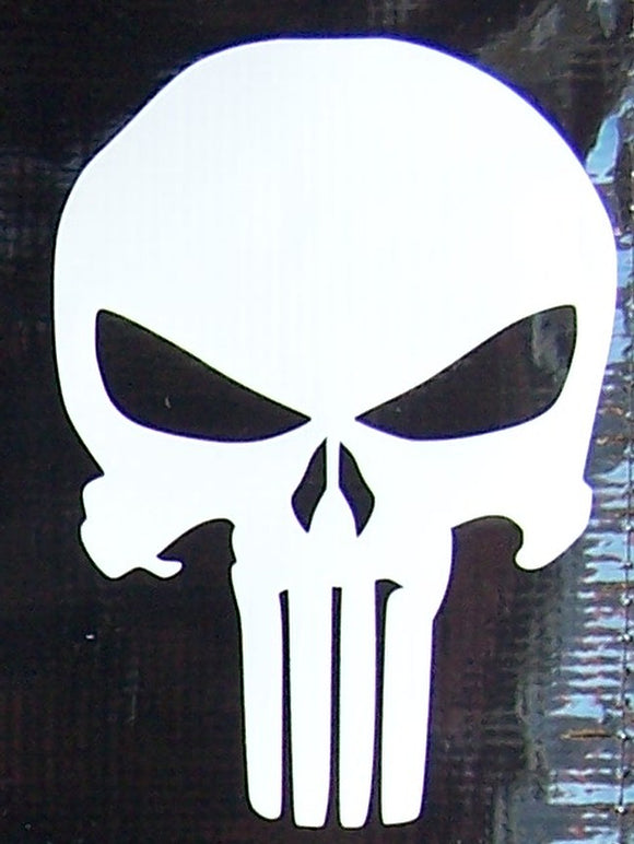 Punisher logo sticker