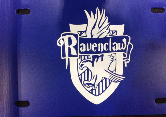 Harry Potter: House of Ravenclaw License Plate