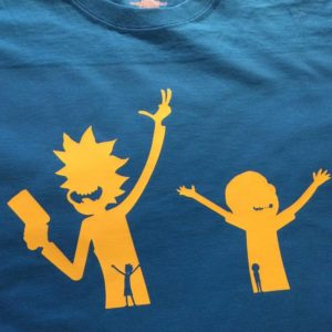 Rick & Morty Silhouette T-Shirt