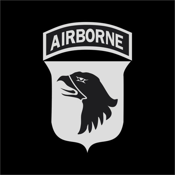 Airborne Vinyl Decal