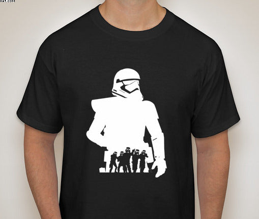 Star Wars:Stormtrooper Silhouette T-Shirt