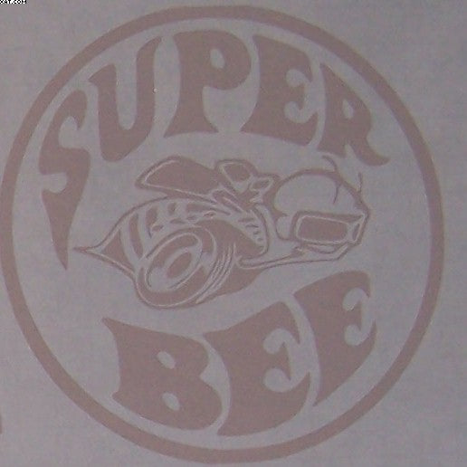 Dodge Super Bee logo sticker