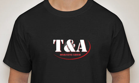 T & A Morning Show Logo T-Shirt