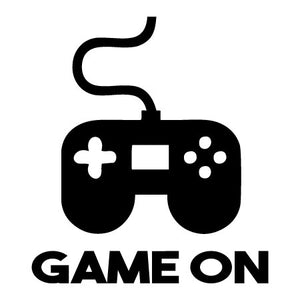 Game On Video Game Controller Decal