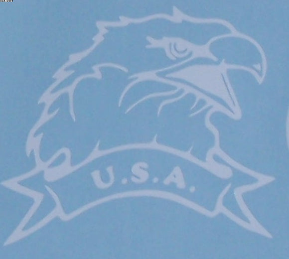 U.S.A. Eagle sticker