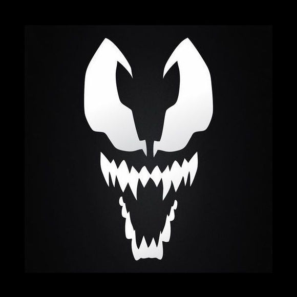 Venom Face Vinyl Decal